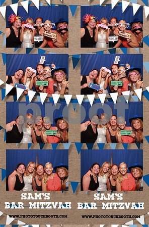 Sam's Bar Mitzvah Photo Strips