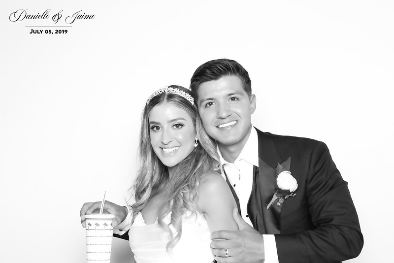 Danielle and Jaime (BW SkinGlow Booth)
