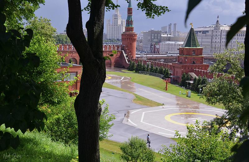 Kremlin Helipad - 2013