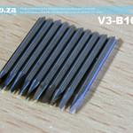 SKU: V3-B10/60, 10 Pieces of Mimaki Compatible 60 Degree Blades 20mm Length