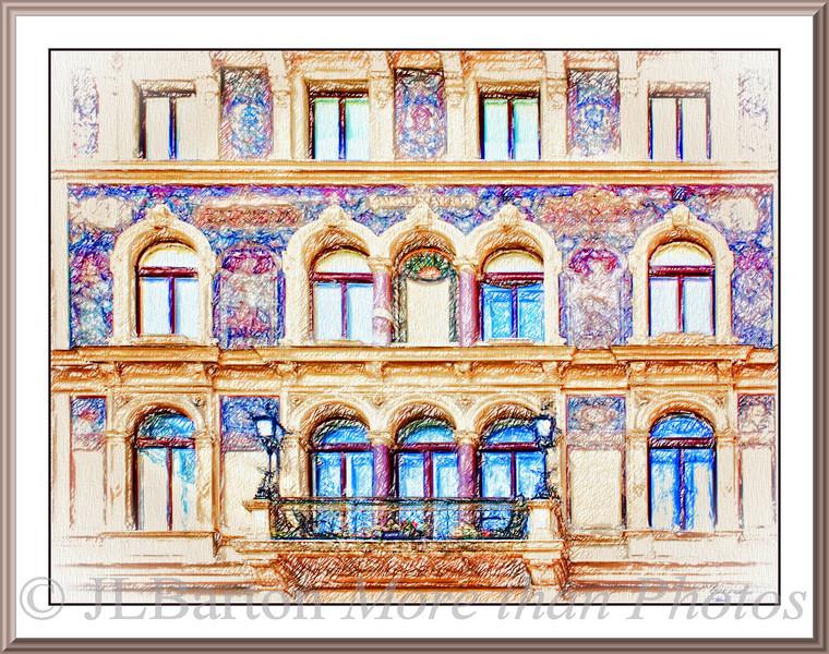 Am Goldenen Becher Venician-style house in the heart of Vienna built 1883 by Alexander Wielemans