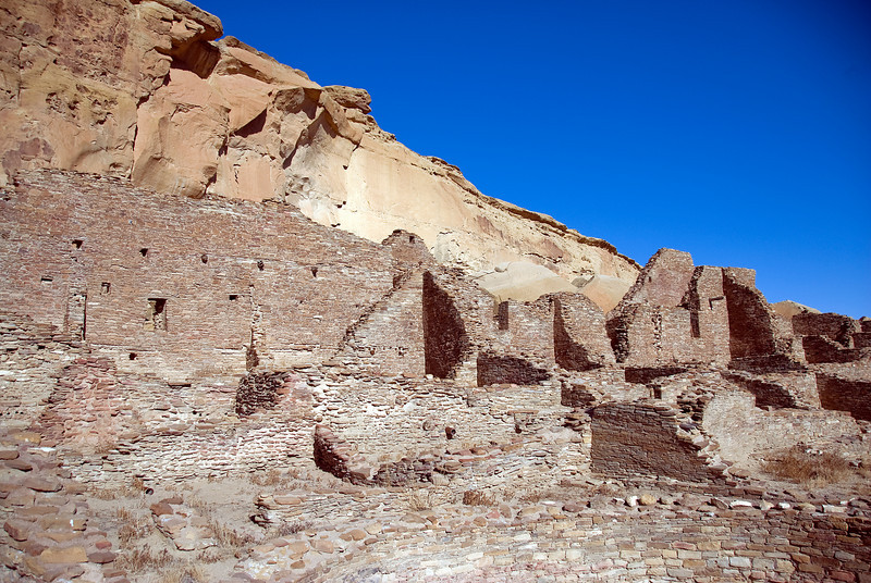 Ancient Pueblo in Chaco Culture National Historic Park, New Mexico