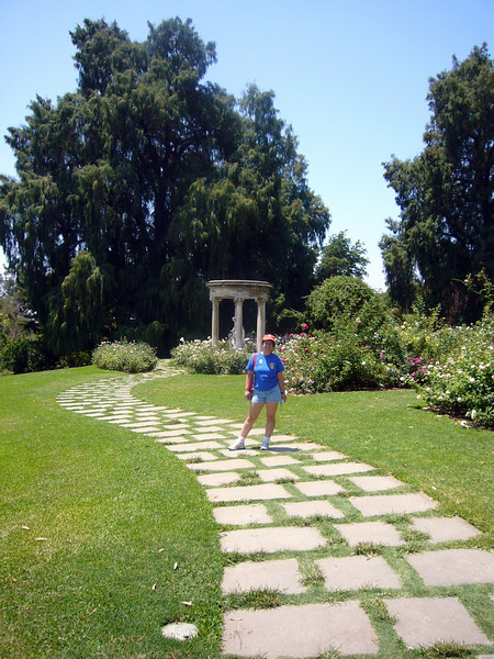 Huntington Gardens with Sara