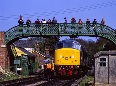 """45132 """"D22"""" NightRail Photo Gallery."""