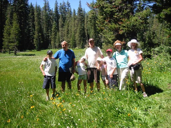 HIKE YOSEMITE WITH GRANDKIDS