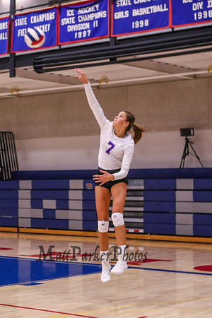 2019-9-15 WHS Girls Volleyball vs Pinkerton