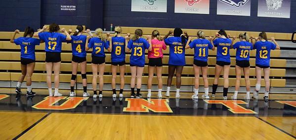 OE JV Girls Volleyball Vs Oswego 2019