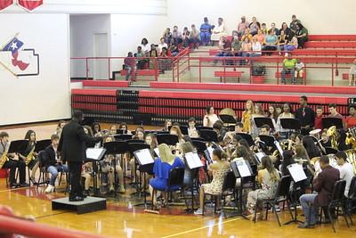 Shelbyville Dragon Bands Spring Concert Scenes