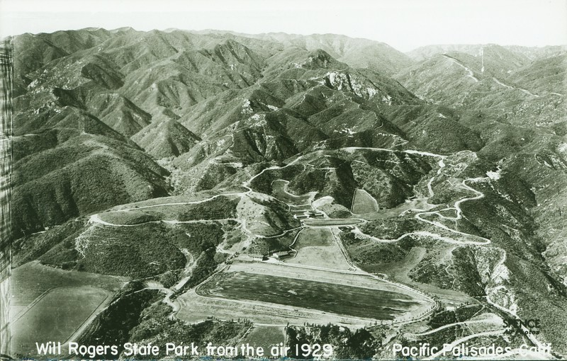 Will Rogers State Park Aerial