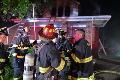 Dearborn - House Fire - Penn Street