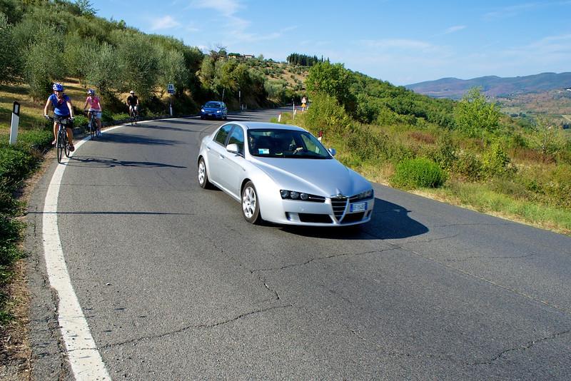 Alfa Romeo  (lots of them in Italy)