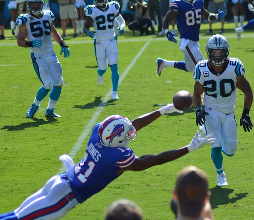 Panthers vs Bills 17 September 2017