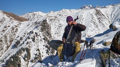Zima ve Střední Asii