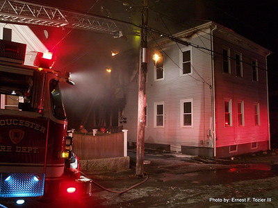 Gloucester - 2nd Alarm, January 2013
