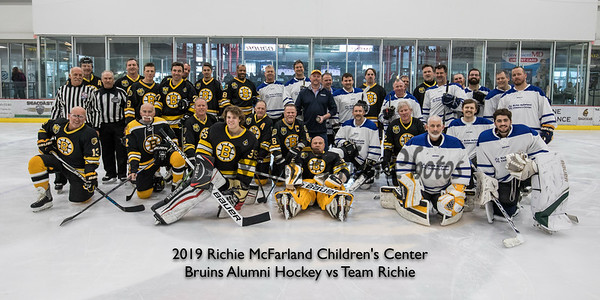2019-3-9 Bruins Alumni vs Team Richie Hockey