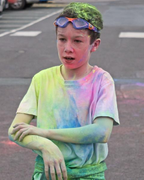 A real rainbow runner