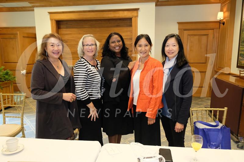 Diana Wong, Marlene Klusman, Krishna Rao, Fei Chen and Grace Wen
