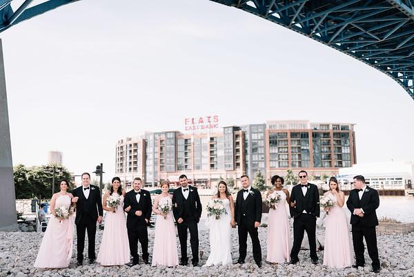 Wedding Photographer In Cleveland | Amanda & Jason's Windows on the River Wedding