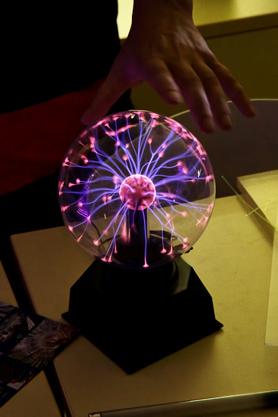 Plazmová lampa  Video: https://www.youtube.com/watch?v=OQJSdZAFBm0