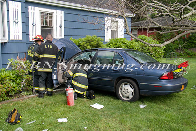 Lindenhurst F.D. Car vs House w/ Traumatic Injury 69 Grand Ave 6-8-13