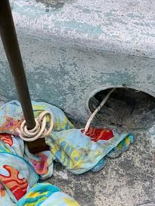 2020.01.25 Repair pool spa light replacement