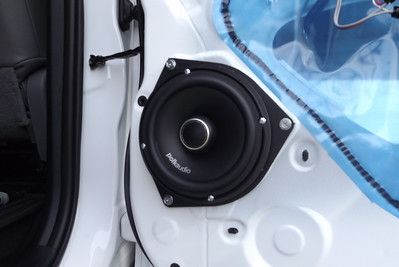 2012 Toyota Tundra XSP-X (Double Cab, No JBL system, standard factory radio/speakers) Rear Speaker Installation - USA