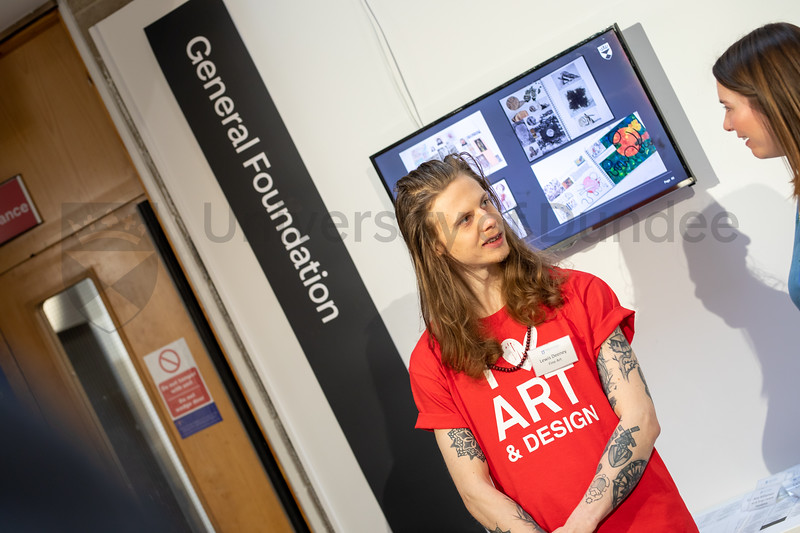 DJCAD Open Day