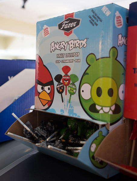 Angry Birds Lollipops