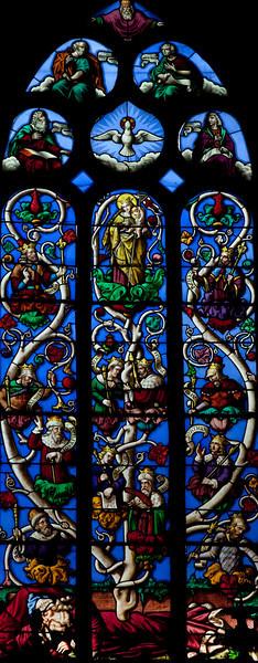 Pleyben, The Tree of Jesse Window