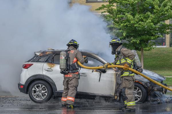 August 12, 2021 - Vehicle Fire - 1827 Victoria Park Ave.