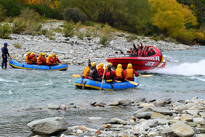 New Zealand - White Water Rafting