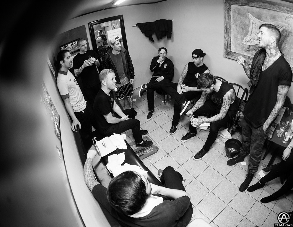 A Day To Remember and Of Mice & Men in Curitiba by Adam Elmakias