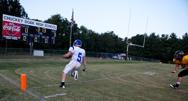 UCHS Football wins big against Chuckey-Doak
