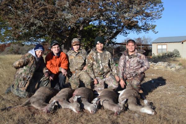 Almosta/Nexta Deer Hunt - Dec 2013