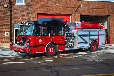 Apparatus Shoot - Lawrence Park FD - 01/09/2020