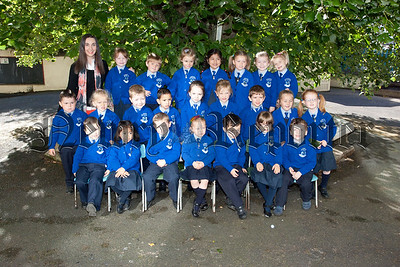 Primary 1 Class at St Clares Abbey Pictured with Miss McShane. R1539007