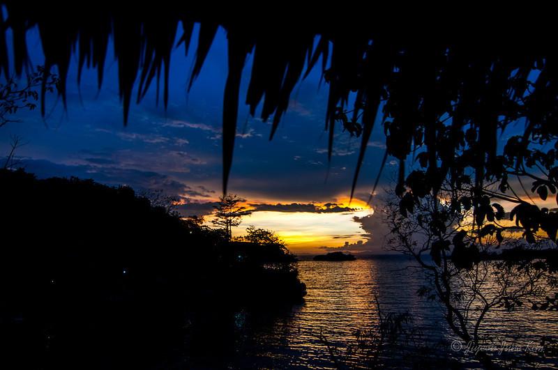 Sunset at Guimaras Island