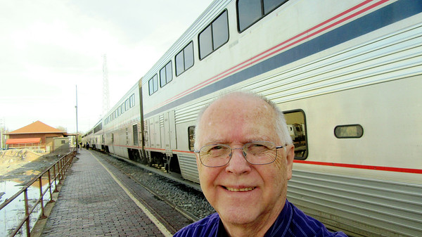 Day in Chicago and Amtrak's City of New Orleans