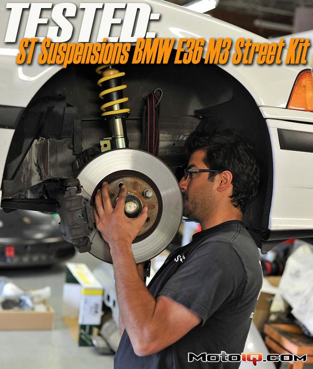 Suspension Techniques BMW E36 M3 Street Suspension Reviewed