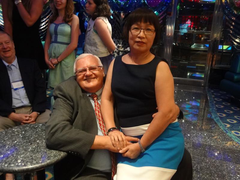 Bob Driegert and wife Julie.