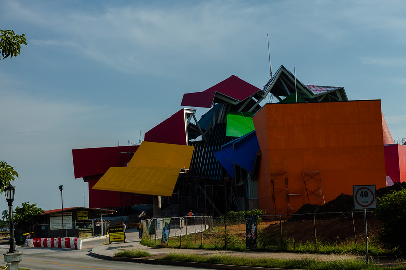 """The Biodiversity Museum """"Frank Gehry design"""""""