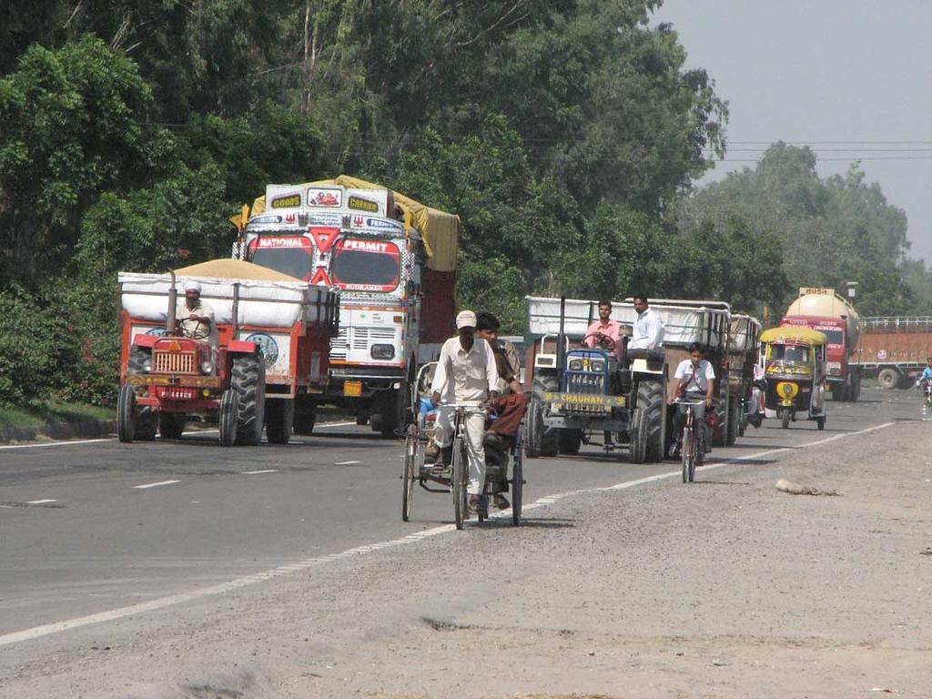 Traffic dangerous? No Sir!