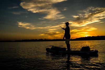 Night on Coon Lake