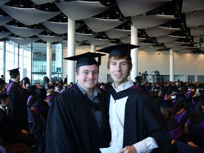 Stephen's Graduation: Wednesday 25th November 2009