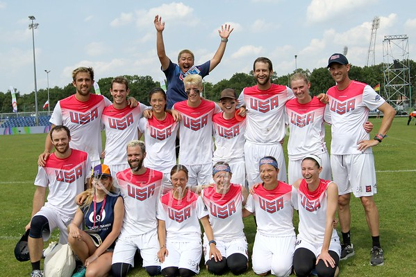 2017 USA at World Games for Flying Disc! - Wroclaw Poland