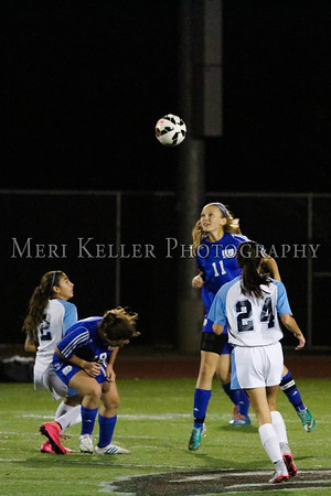MHS Soccer Semi-finals vs. Lady Panthers 11.3.15
