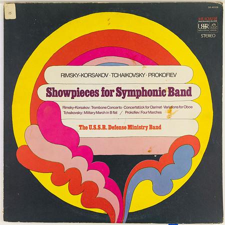 Angel-Melodiya SR-40108 Showpieces For Symphonic Band