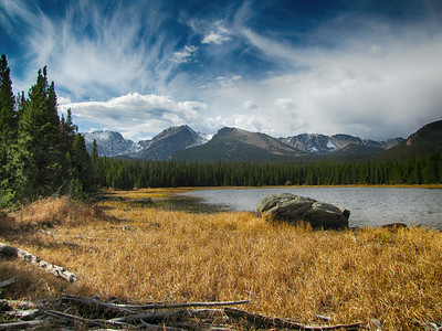 Bierstadt Lake - October 17, 2010