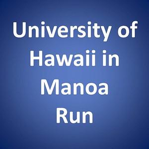 UH Manoa Run