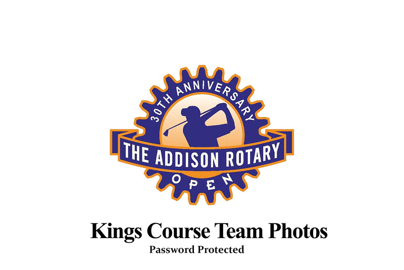 Addison Rotary Open 2020-Kings Course